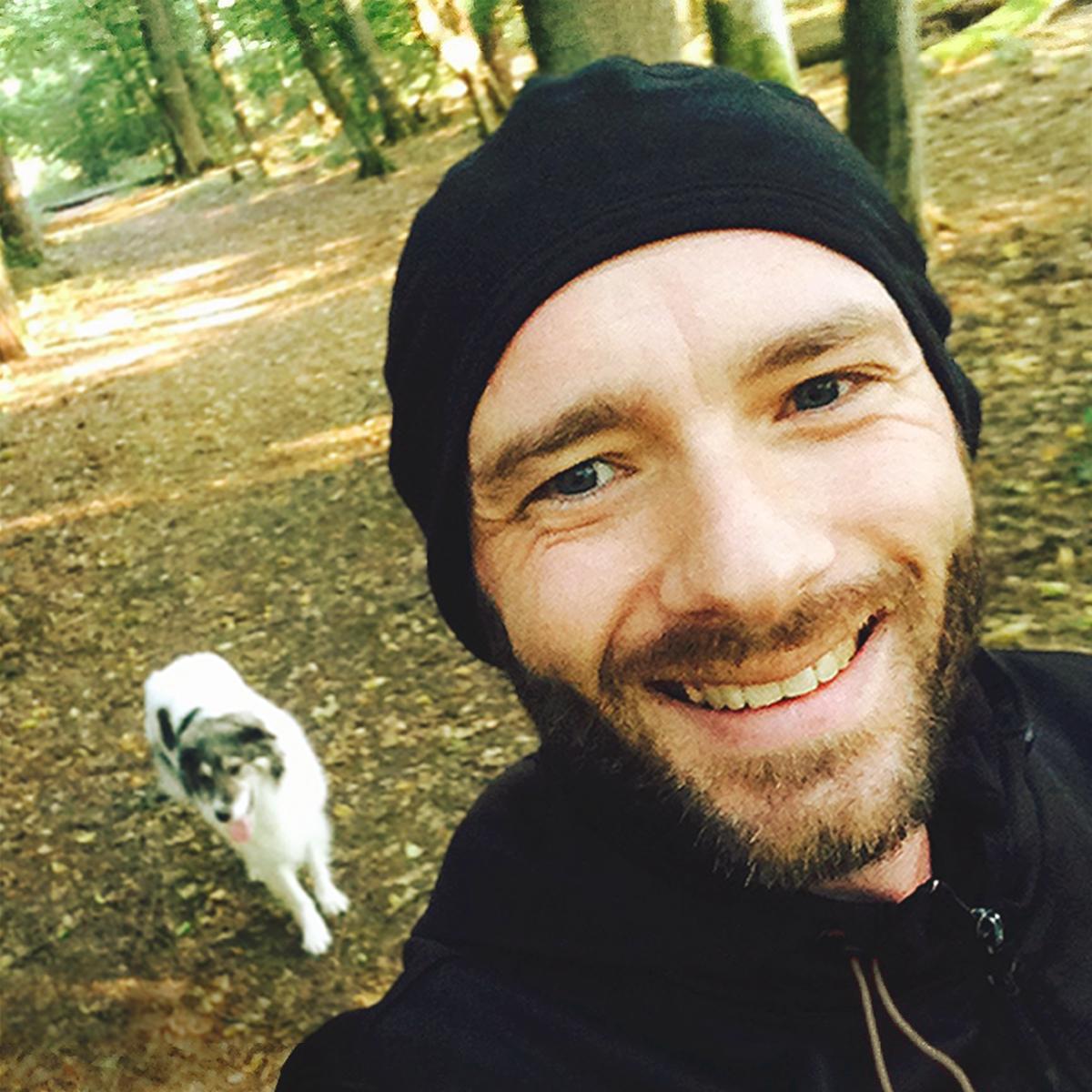 Christoph beim Laufen