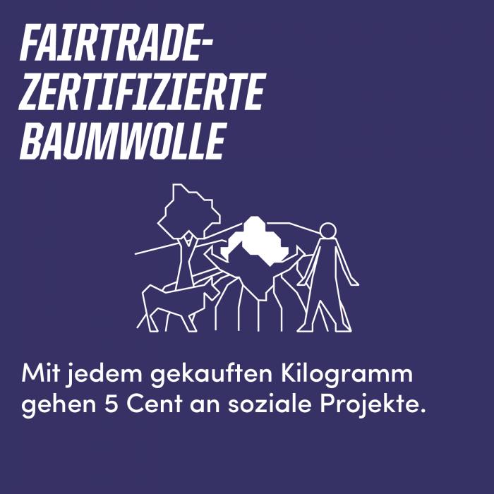 Fairtrade-zertifizierte Baumwolle