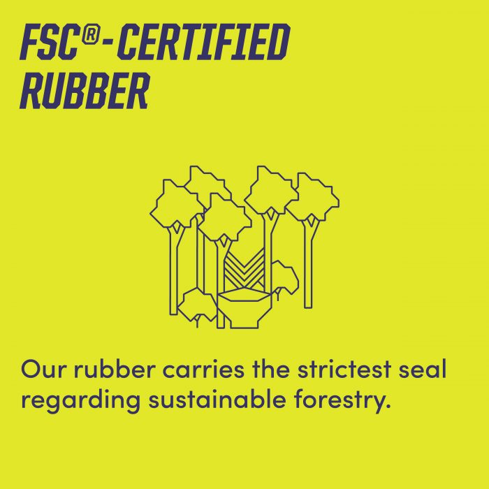 Fsc®-certified Natural Rubber