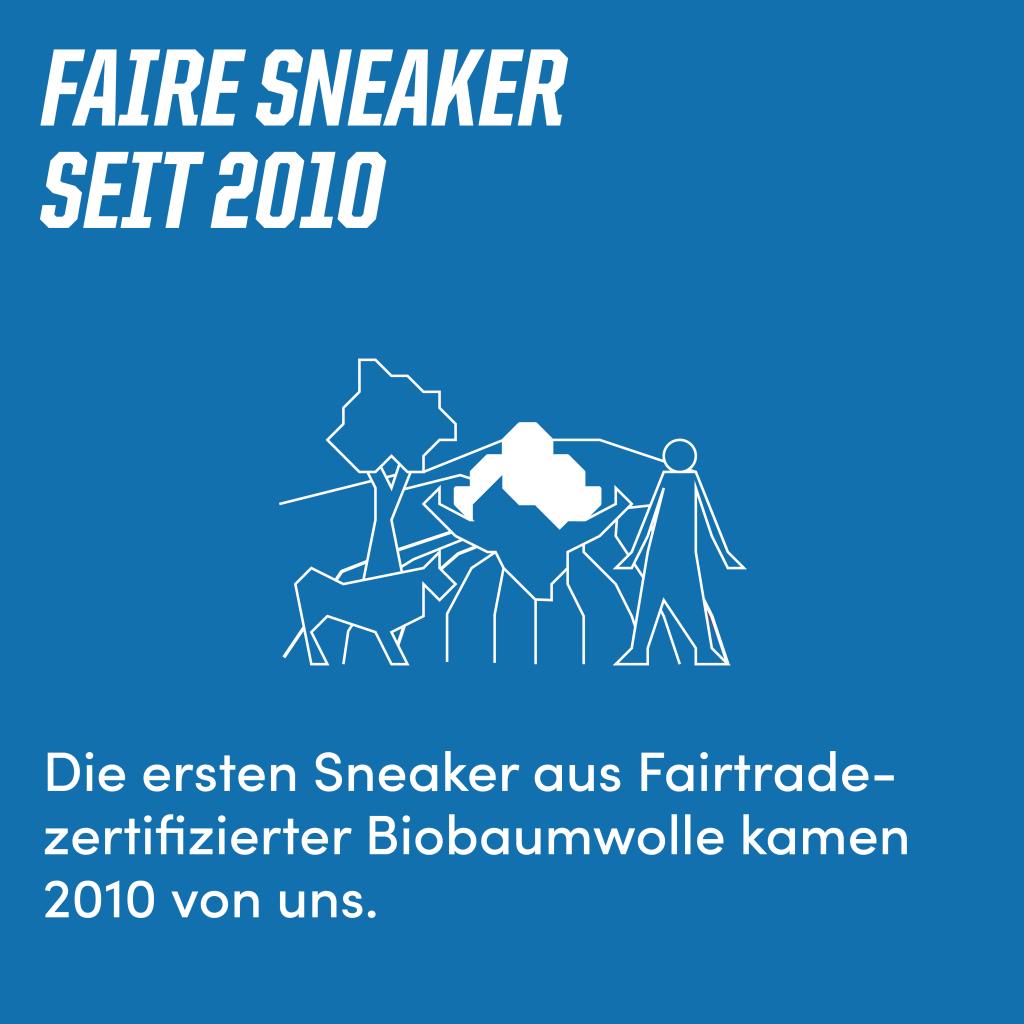 Faire Sneaker seit 2010