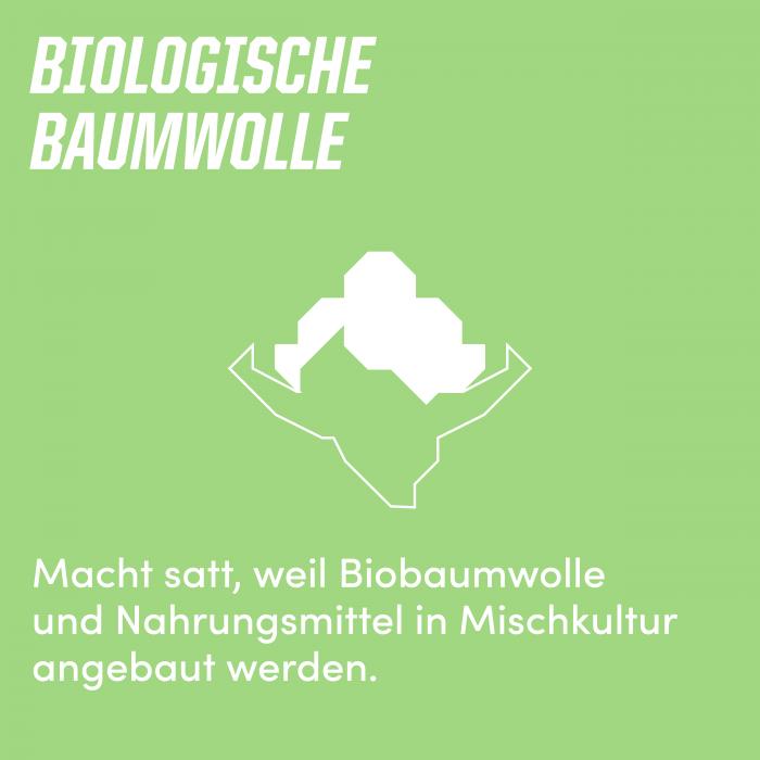 Biologische Baumwolle