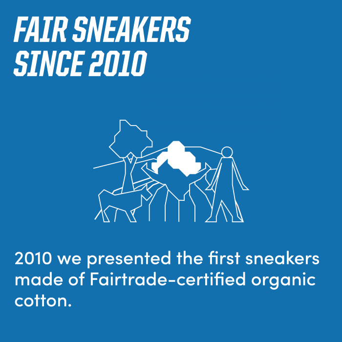 Fair sneakers since 2010