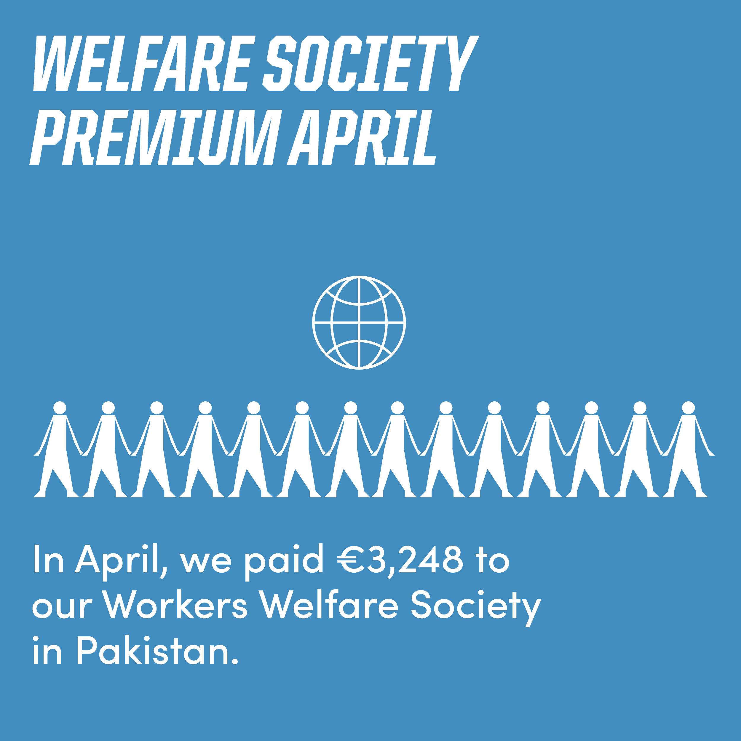 Ethletic paid €3,248 to workers welfare society in March.