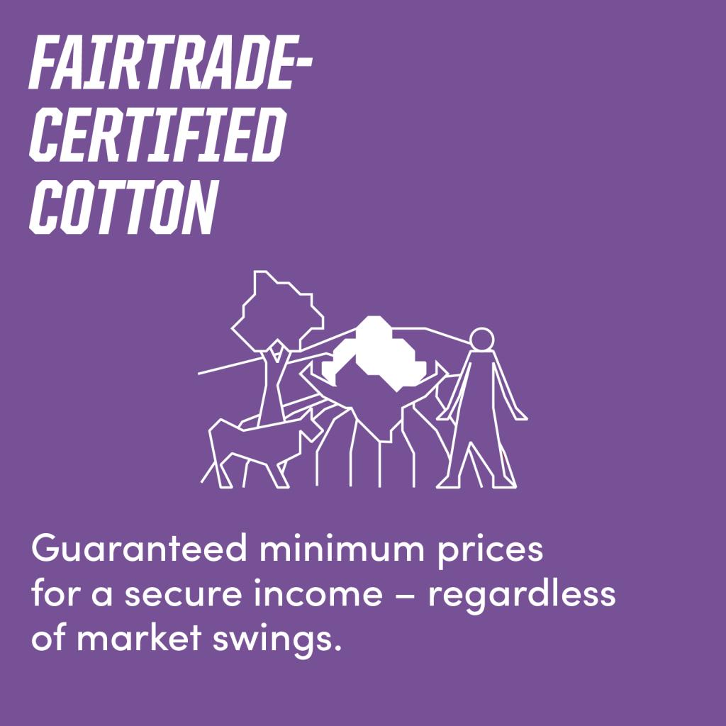 Fairtrade-certified cotton